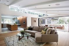 Mid-century Modern House by Klopf Architecture
