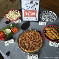 101 Dalmatians Movie Night Movie Night For Kids, Movie Night Snacks, Dinner And A Movie, Night Food, Family Movie Night, Disney Themed Food, Disney Inspired Food, Disney Food, Disney Recipes