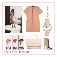 """Kylie Pink Inspired"" by aneeqahsulaiman on Polyvore featuring Kendall + Kylie, Givenchy and Kate Spade"
