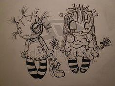 Rag dolls. by chitchi