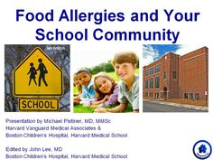 Here's a 6 minute slideshow to helpincrease food allergy awareness in ALL parents in the school community. It is meant to help foster a supportive community through understanding basic facts about food allergies and the constant need for prevention and preparedness.