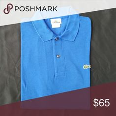 Mens Lacoste polo Short sleeve, regular fit, new without tags Lacoste Shirts Polos