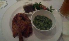 Roast Chicken at Bistro Baron