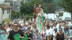 Eating, Playing and Praying at the St Rocco's Feast in Glen Cove