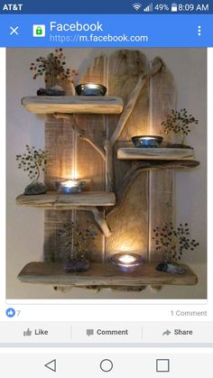 Driftwood creation...