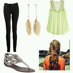 shopping by the beach outfit
