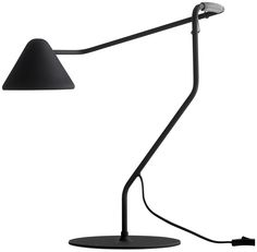 Spring table lamp