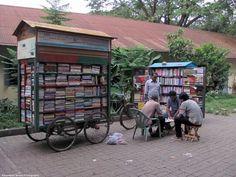 Mobile library, Dhaka (Bangladesh)