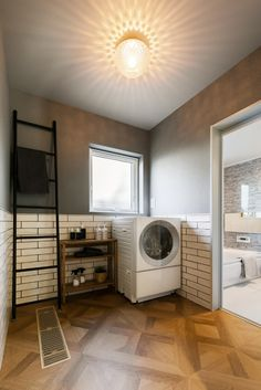 Bathroom Images, Stacked Washer Dryer, Laundry Room, Washing Machine, Home Appliances, House, Home Decor, Ideas, Interior Design