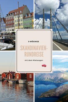 Ihr möchtet so viel wie möglich von #Skandinavien auf einer #Rundreise sehen? Wir haben für euch einen 3-wöchigen #Roadtrip  durch #Dänemark, #Schweden und #Norwegen zusammengestellt.  Los geht es in #Deutschland mit dem #Mietwagen, der Startpunkt ist die wunderschöne Stadt #Kopenhagen! <3