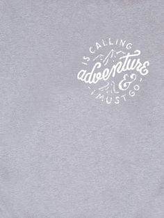 adventure is calling sweater front
