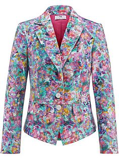 Peter Hahn Floral blazer only available in size 36 and 46.
