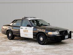 Ontario Provincial Police Ford Crown Victoria Police Interceptor
