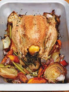Perfect roast chicken - I've bought my xmas chicken, and now I know what to do with it.