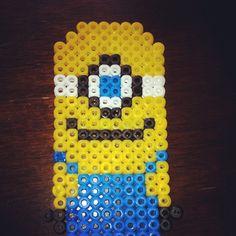 Minion hama beads by shelbieox
