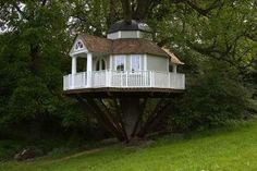 Fantasie huisjes en mooie boomhutten