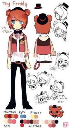 """Lulu 999 fnaf """"So cute ~ """" toy Freddy Fnaf Oc, Anime Fnaf, Kawaii Anime, Five Nights At Freddy's, Freddy S, Good Horror Games, Pole Bear, Fnaf Characters, Fnaf Sister Location"""