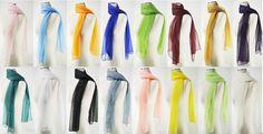 New Chiffon Scarf Oblong Women's Fashion Style Lady Shawl Girls Stole 22 Colors | eBay
