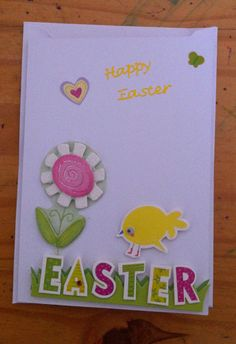 Handmade Easter card
