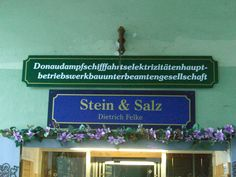German language is known for its pretty long compound words. Have a look at this sign seen in Passau, Germany. Compound Words, German Language, Germany, Pretty, Passau, Deutsch, German