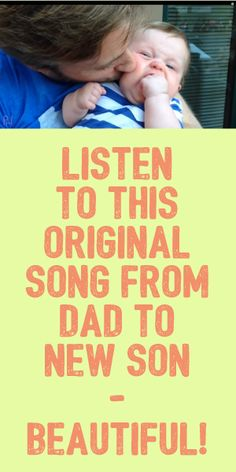 Listen To This Original Song From Dad To New Song! BEAUTIFUL!