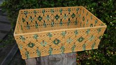 Check out this item in my Etsy shop https://www.etsy.com/uk/listing/258607932/macrame-basket-big-weaving