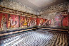 Pompeii And Herculaneum, Happy Sunday, Art History, Your Photos, Mystery, Villa, Italy, Gallery, Europe