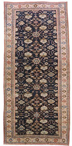 "SULTANABAD (CENTRAL PERSIA), CIRCA 1885 Dimensions: 12' 6"" x 26' 7"" Stock Number: 1922 from BEAUVAISCARPETS"