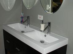Install Trough Sink Bathroom - http://mybathroomideas.net/install-trough-sink-bathroom/