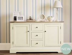 Dorset Sideboard  #LauraAshleySS14  Lovely side board, I can imagine this in a lovely sunny living room or dining room!