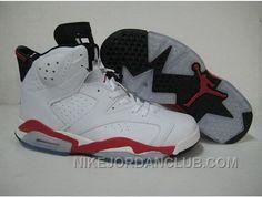 http://www.nikejordanclub.com/closeout-nike-air-jordan-6-vi-retro-mens-shoes-white-red-cheap.html CLOSEOUT NIKE AIR JORDAN 6 VI RETRO MENS SHOES WHITE RED CHEAP Only $94.00 , Free Shipping!