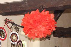fleurs papier de soie