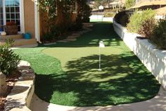wheels turning ... back in the garden, instead of a path ... a mini putt putt course hmmm