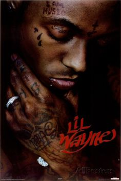 Lil Wayne Tattoos Up Close | Don't see what you like? Customize Your Frame