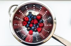 'Berries washed and ready' by Carole Tidball on Photocrowd