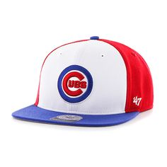 Chicago Cubs Amble Captain Snapback by '47 Brand  #ChicagoCubs #Cubs #FlyTheW