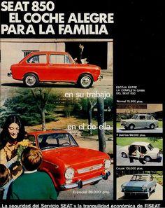 Seat 850. Año 1969