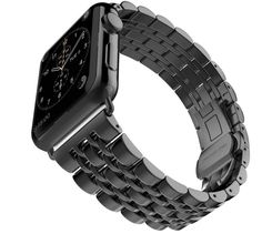 For Stainless Steel Strap Classic Buckle Adapter Link Bracelet Watch Band for Apple Watch & Sport & Edition - 42/38mm