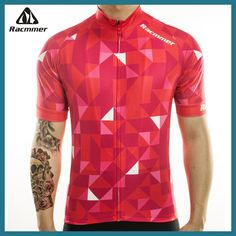 Racmmer 2018 Cycling Jersey Mtb Bicycle Clothing Bike Wear Clothes Short Maillot Roupa Ropa De Ciclismo Hombre Verano #DX-10