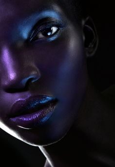 Neon Photography- playing with realism and traditional perceptions using colour- Achok by Maggie West for Zink