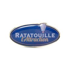 Disneyland Paris Ratatouille Pin