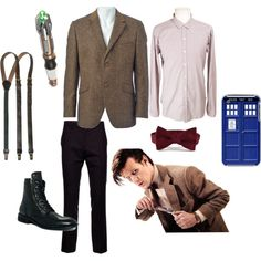 """Eleventh Doctor Costume"" by pricklythornsweetlyworn on Polyvore"