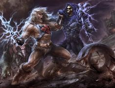 Best Cartoons Ever, Cool Cartoons, Comic Movies, Comic Books, Battle Chasers, She Ra Princess Of Power, Universe Art, Man Vs, Fantasy Warrior