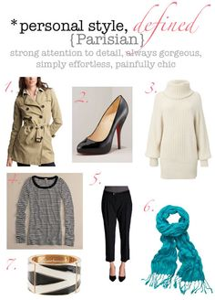 personal style, defined: Parisian!