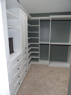 Corner Shelves In The Closet?