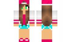 minecraft skin pink-skittle-edit