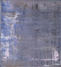 Gerhard Richter, Abstraktes Bild (Abstract Painting), 1999. Oil on canvas. 56cm H x 51cm W. [861-3]