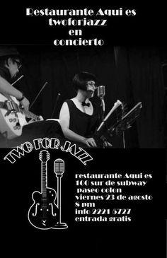 Two for Jazz, gratis el 23 de agosto