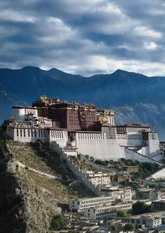 #107 Ensemble of the Potala Palace, Lhasa