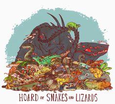 Uncommon dragon hoards